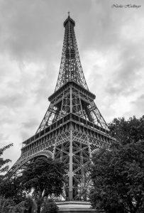 Très belle perspective de la Tour Eiffel